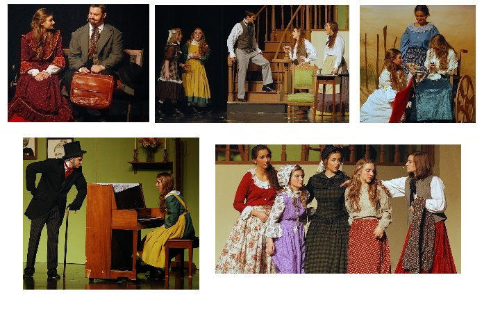 Little women collage
